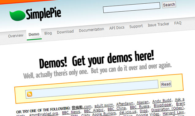 SimplePie RSS CodeIgniter
