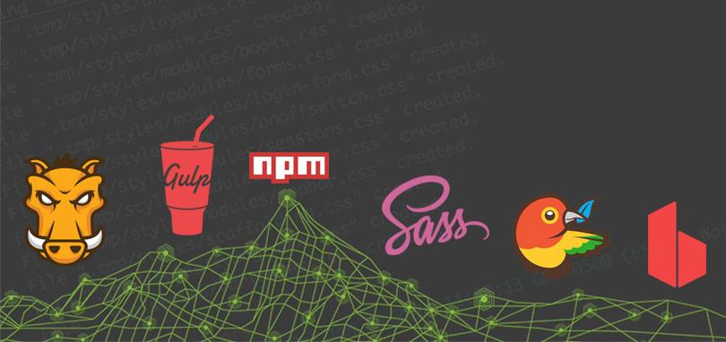 node-grunt-gulp-bower-npm-sass-browsersync